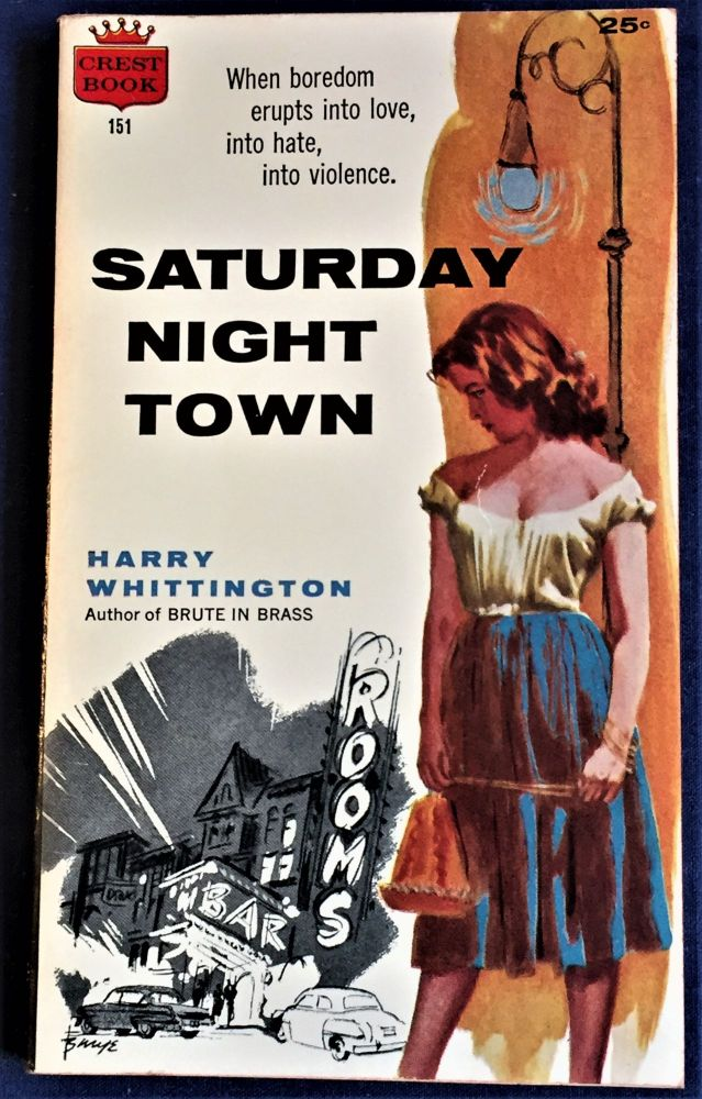 Saturday Night Town. Harry Whittington.