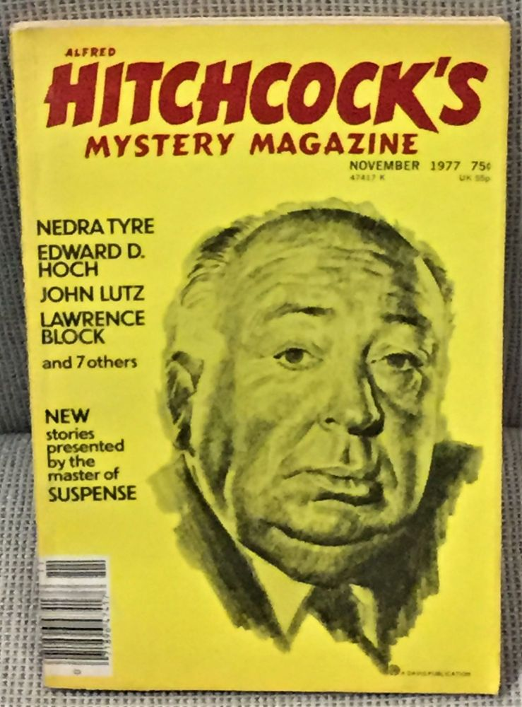 Alfred Hitchcock's Mystery Magazine November 1977. Alfred Hitchcock, John Lutz Lawrence Block, others.
