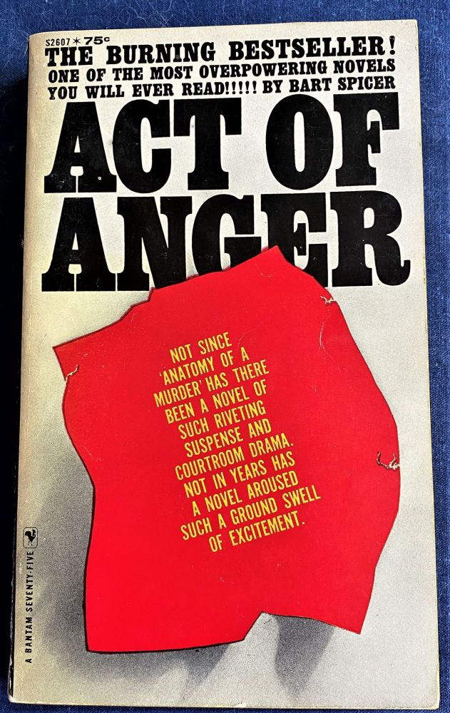 Act of Anger. Bart Spicer.