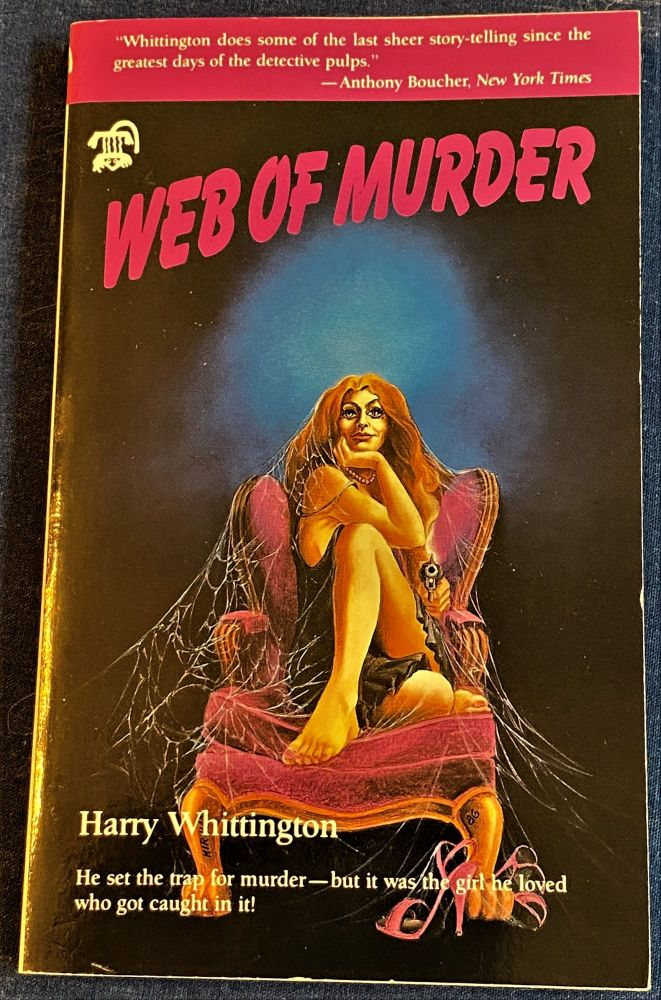 Web of Murder. Harry Whittington.