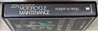 Zen and the Art of Motorcycle Maintenance, an Inquiry Into Values
