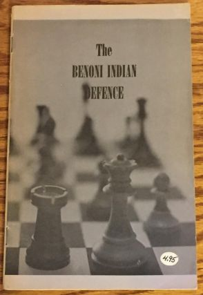 The Benoni Indian Defence. David Holmes