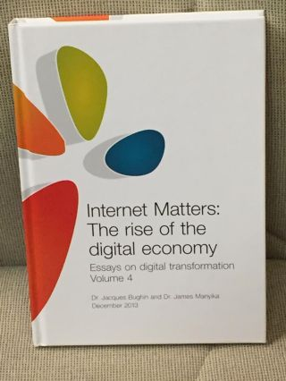 Internet Matters: The Rise of the Digital Economy, Essays on Digital Transformation, Volume 4....