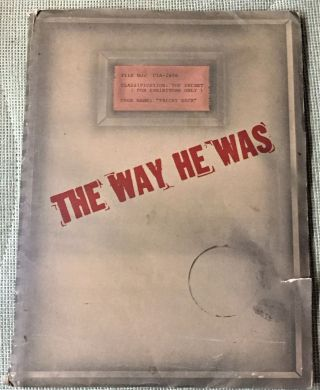 The Way He Was. Steve Friedman Mark Lester, Merrie Lynn Ross, Al Lewis