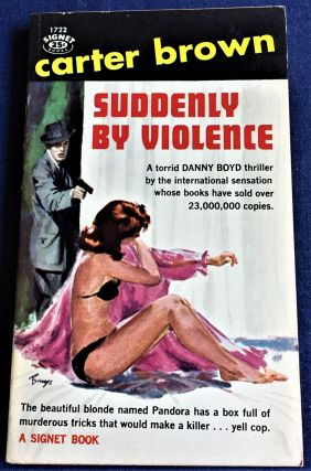 Suddenly by Violence. Carter Brown