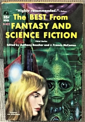The Best from Fantasy and Science Fiction Third Series. Anthony Boucher, J. Francis McComas