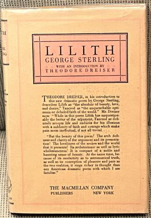 Lilith, A Dramatic Poem. George Sterling