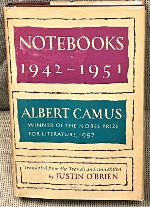 Notebooks 1942-1951. Albert Camus