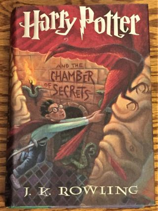 Harry Potter and the Chamber of Secrets. J K. Rowling